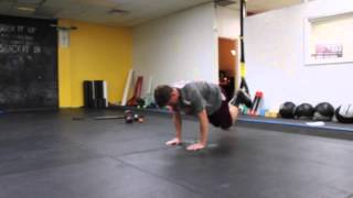 TRX Single Leg Bodysaw/Knee Tuck Combo - Sports Performance Training in Virginia