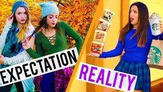 FALL Expectations VS. Reality! Niki and Gabi