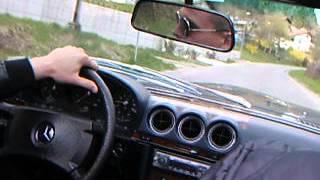 Philipp Burger und Raven Henley mit mir in Brixen im Cabrio unterwegs