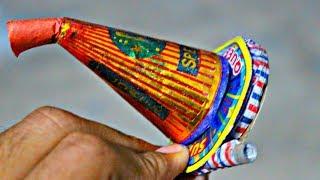 What happens Burn firecracker (Anar&Chakri) together | EXPERIMENT