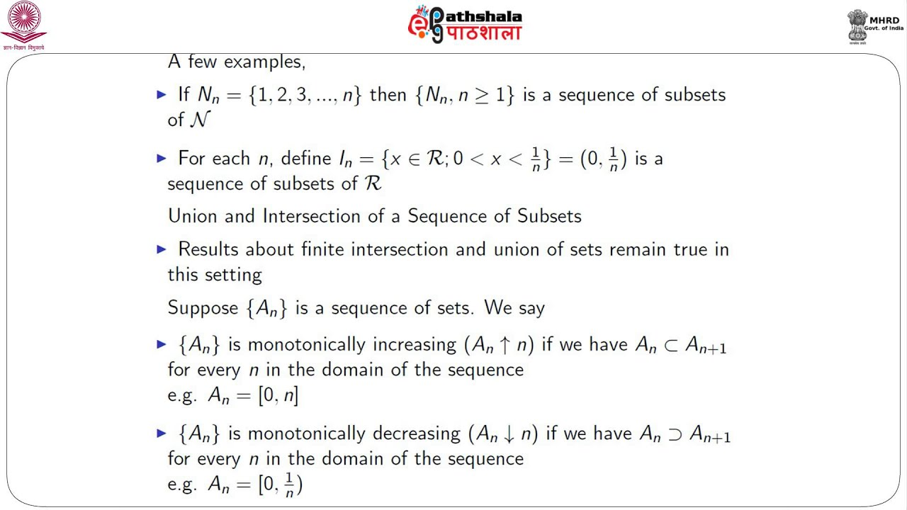 definition of sequence in math pdf