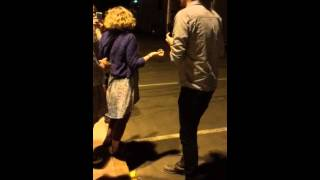 Meeting Hozier at Red Rocks