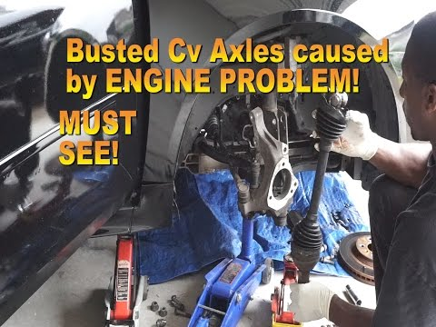 How to replace 2010 chevrolet Impala Cv Axle Wheel bearing & motor mount removal.