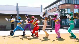 Power Ranger Dino Charge | Batalla con el Ranger Púrpura: Albert demuestra su valor como Ranger