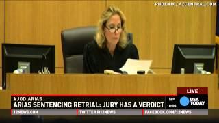 Mistrial declared in Jodi Arias sentencing retrial