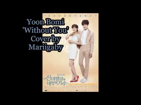 Yoon Bomi - Without you   spanish cover by Mariigaby