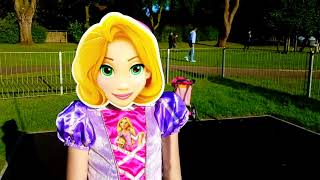Princess Rapunzel Had a Baby Doll on Pushchair * Song For Kids