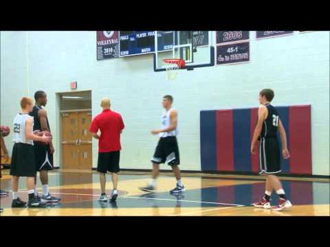1 on 0 Team Rebounding Outlet Drill