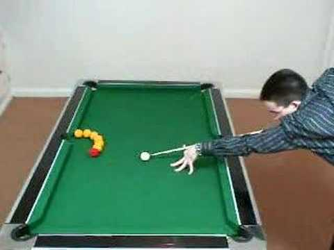 Charmant Pool Trick Shots