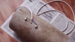 Как сделать обогреватель для гаража легко из асбестовой трубы.)))(, 2015-02-21T16:19:59.000Z)