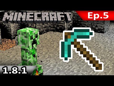 Tackle⁴⁸²⁶ Minecraft (1.8.1) #5 - มะหมาสี่ขา สีเขียว