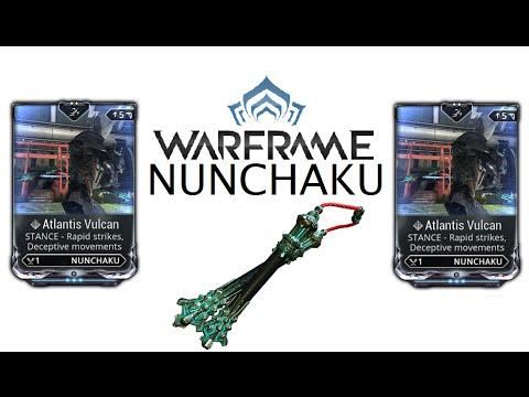 Warframe Stances - Atlantis Vulcan (Nunchaku)
