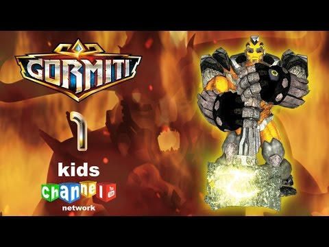 Gormiti - Episode 1 - Animated Series | Kids Channel Network