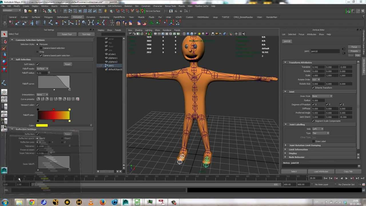 Motion capture databases