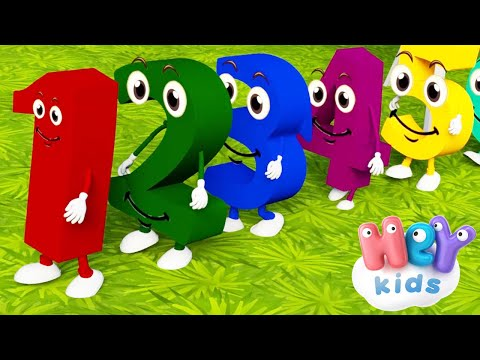 Siamo I Numeri - La canzone dei numeri per bambini