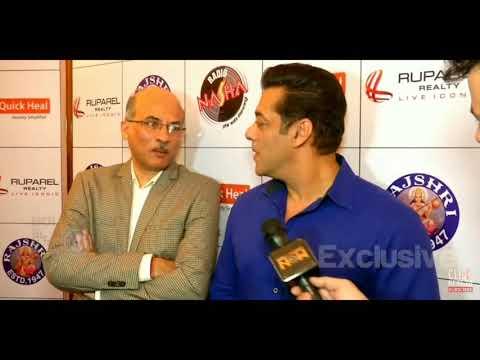 Salman Khan About His Next Film With Sooraj Barjatya || Rajshri Productions Mp3