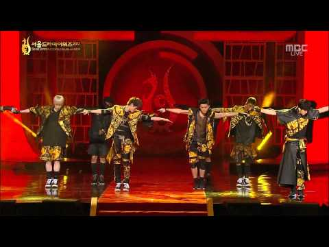 130905 B.A.P - BADMAN @ 2013 Seoul International Drama Awards [1080P]
