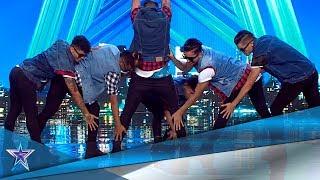 Estos BAILARINES COLOMBIANOS y VENEZOLANOS lo dan todo | Audiciones 9 | Got Talent España 5 (2019)