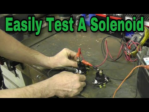 How To Test A Solenoid - with Taryl