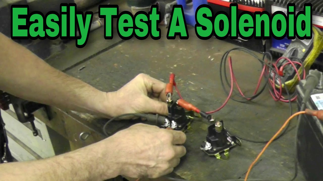 How To Test A Solenoid With Taryl Youtube Meyer Plow Light Wiring Diagram