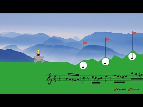 Turkish March - Rondo Alla Turca - Mozart - Rhythm practice - Lectura rítmica