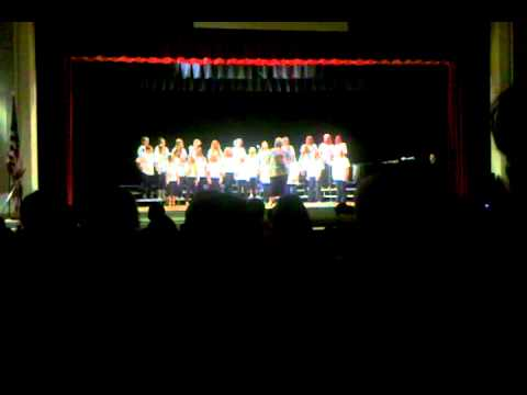 Prescott Mile High Middle School beginning choir