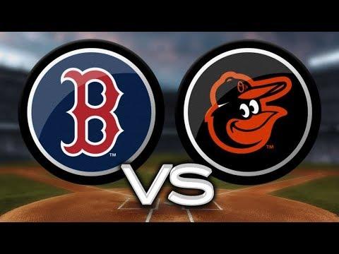 Boston Red Sox vs. Baltimore Orioles