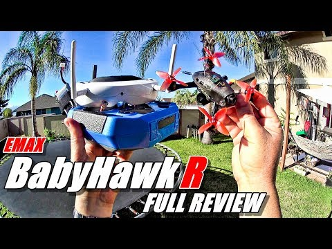 Emax BABYHAWK R Review - Micro FPV Race Drone - [Unboxing, Flight/Crash Test, Pros & Cons]