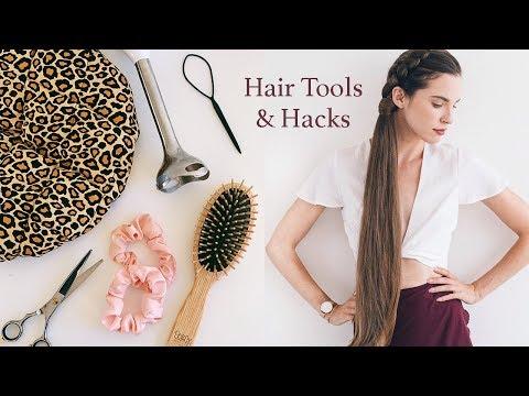 TOOLS AND HACKS FOR HEALTHY HAIR! (Natural Haircare)