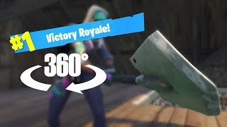 Victory Royale In Virtual Reality - Fortnite 360 Timelapse