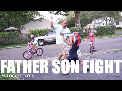 FATHER SON FIGHT #Vlogust Day 9 | TeamYniguezVlogs #190b