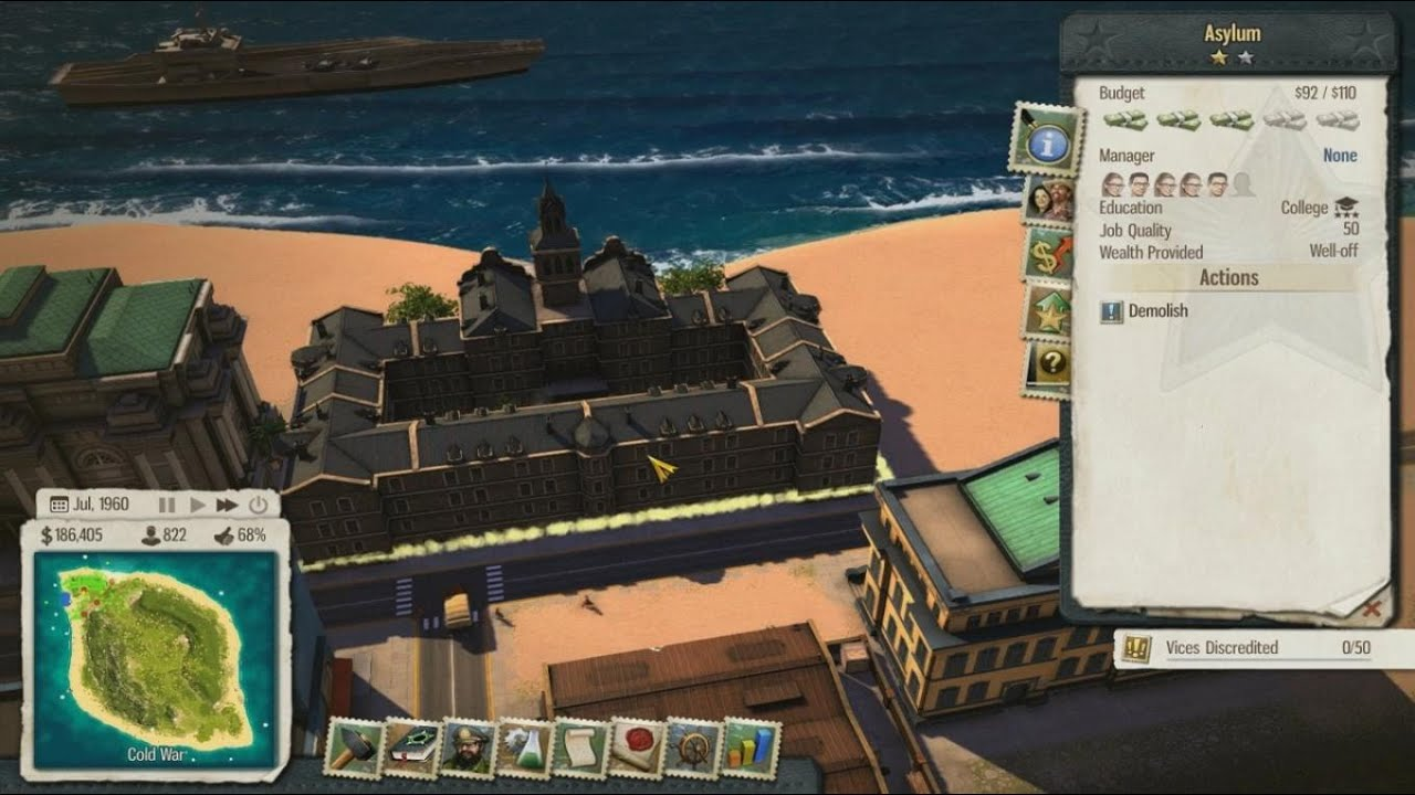 lets play tropico 5 17 mad world dlc youtube