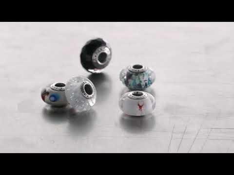 Como se hacen charms de cristal de Murano by Pandora