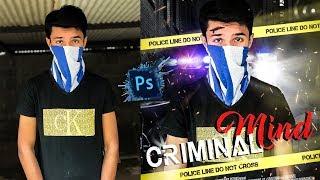 Criminal Mind Movie Poster Design In Photoshop CC