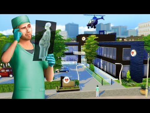 Hospital de Willow Creek - Construção The Sims 4 - Speed Build