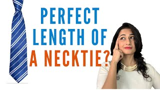 What is the Proper Length of a Necktie? | #shorts