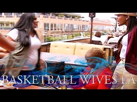 Basketball Wives LA Girlfight: Malaysia Vs. Laura