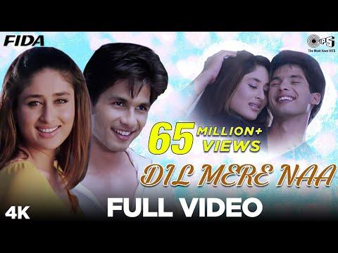 Dil Mere Naa - Video Song | Fida | Shahid Kapoor & Kareena Kapoor | Udit N & Alka Y | Anu Malik