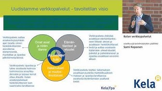 Kelan verkkopalvelut, asiakkuusjärjestelmäyksikön päällikkö Sami Koponen
