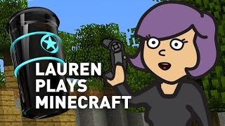 Lauren learns how to plays Minecraft, the easiest game we could fin...