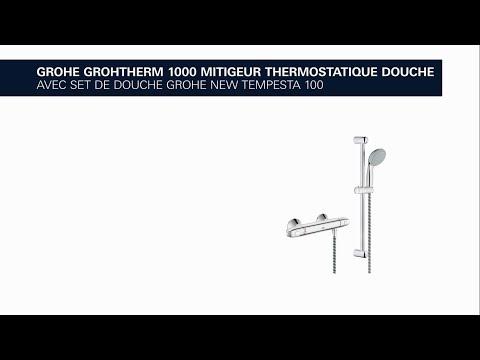 R glage de la temp rature sur mitigeur thermostatique g - Reglage temperature mitigeur thermostatique douche ...