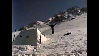 Фристайл на лыжах // Акробатика, прыжки, падения // Самые лучшие трюки #4