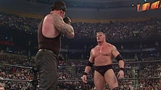 Brock Lesnar vs Undertaker No Mercy 2003 Highlights