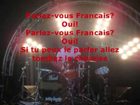 Art Vs Science - Parlez Vous Francais w/ Lyrics.