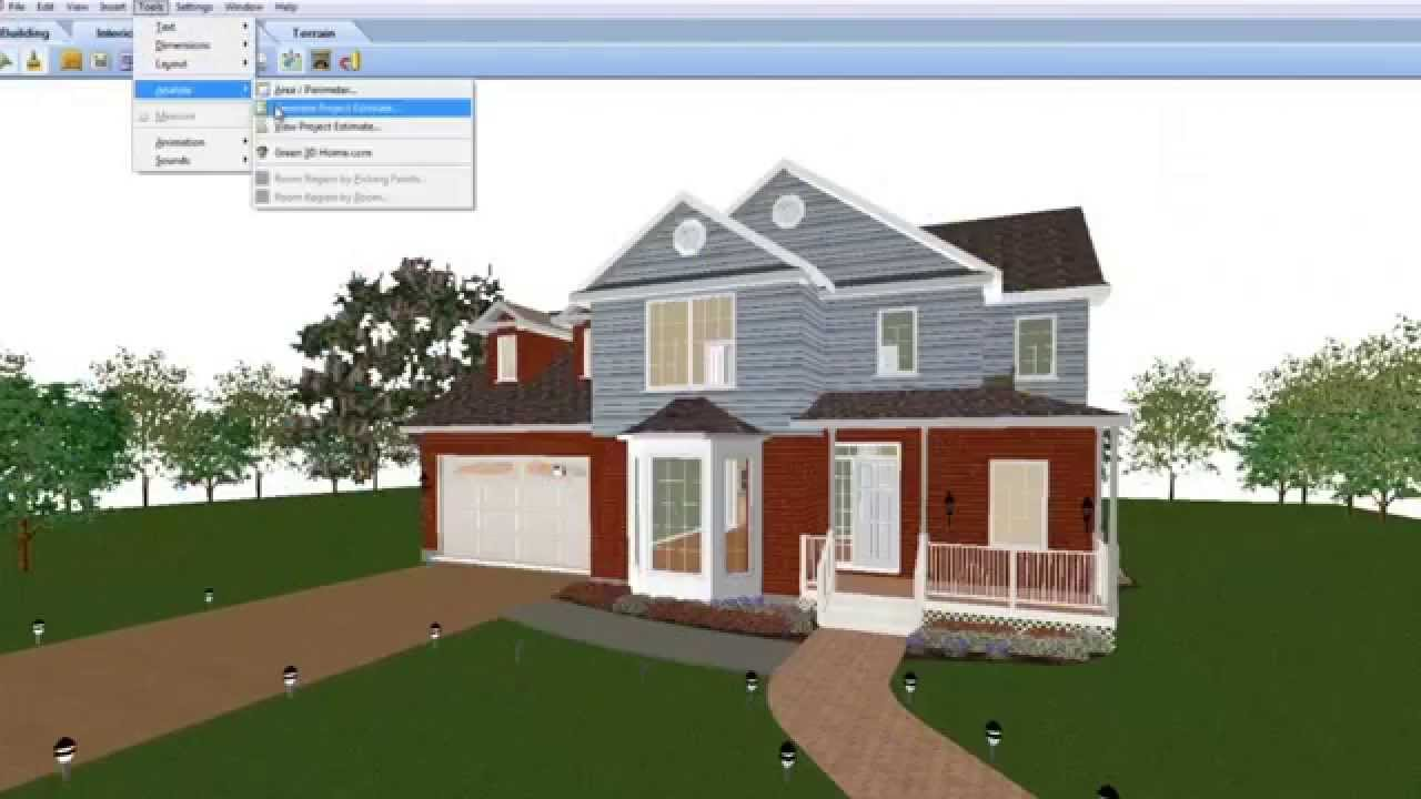 Hgtv ultimate home design software youtube Computer house plans software