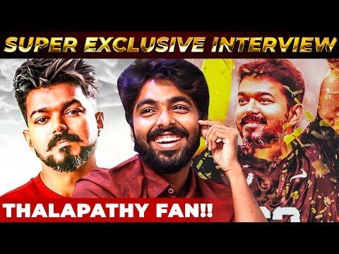 Thalapathy Vijay Fan! - The Real Reason Behind the Character   GV Prakash Reveals