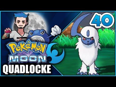 Pokémon Moon Quadlocke Part 40 | ABSOL-UTION