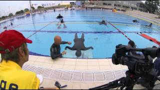 Natalia Molchanova freediving World record at static apnea (STA) - 9:02