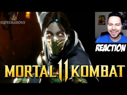 "JADE IS BACK & LOOKS AMAZING! - Mortal Kombat 11: ""Jade"" Gameplay REACTION! thumbnail"