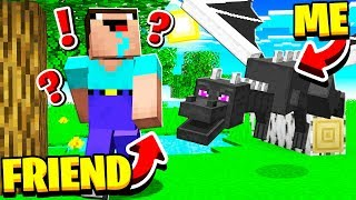 TROLLING As The ENDER DRAGON In MINECRAFT!